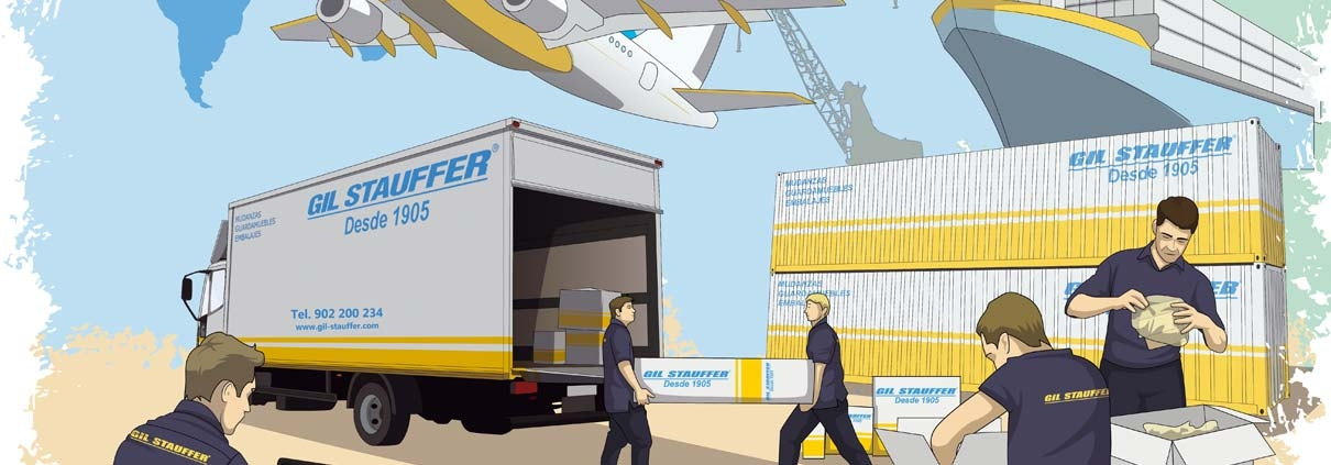 Removals to and from Spain - Gil Stauffer, moving company