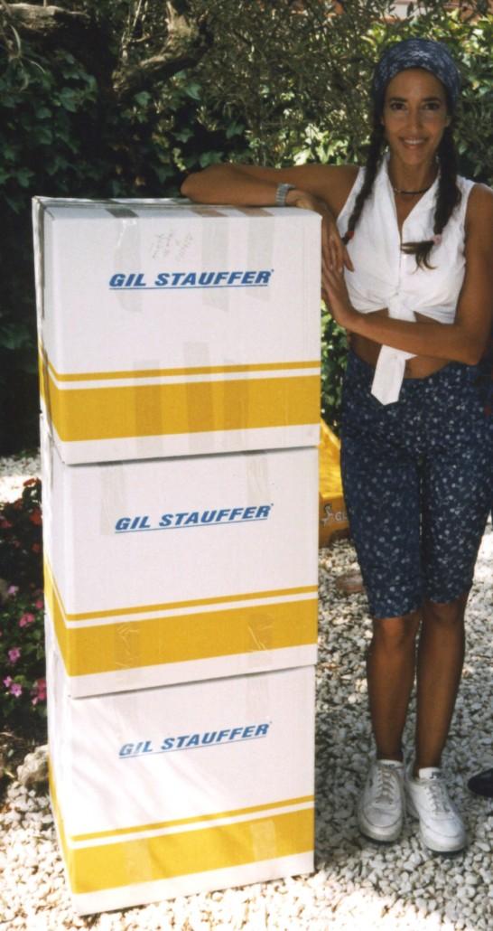 Mudanza de Elsa Anka - Mudanzas de famosos Gil Stauffer