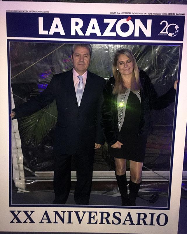 GIL STAUFFER EN LA CELEBRACIÓN DEL XX ANIVERSARIO DE LA RAZÓN