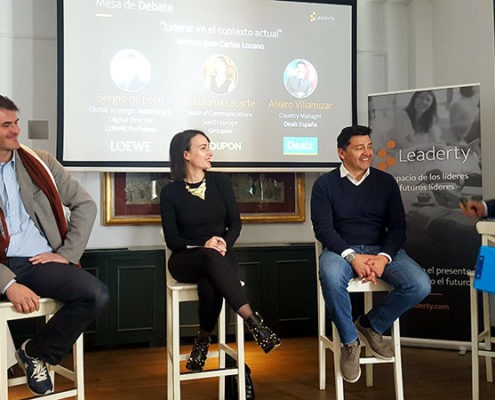 Empresas líderes del siglo XXI se reúnen en la presentación de Leaderty