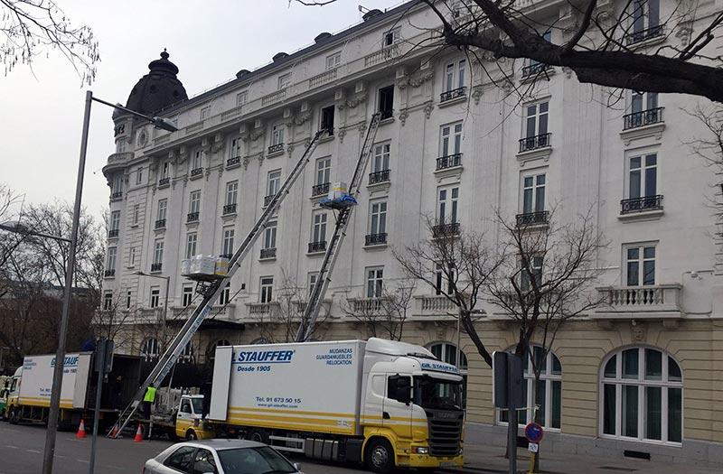 Mudanzas de hoteles - Mudanza Hotel Ritz Madrid