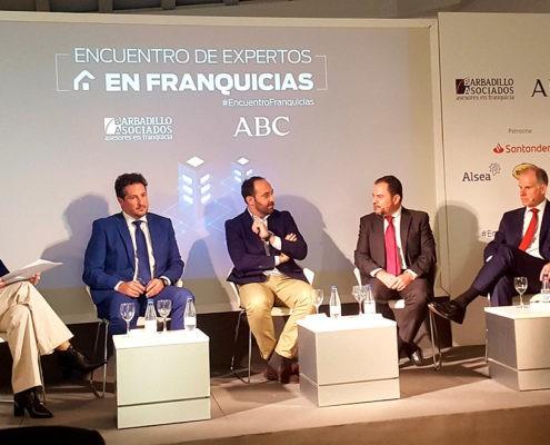 ¿ES LA FRANQUICIA UN ÉXITO SEGURO? GIL STAUFFER ASISTE AL ENCUENTRO DE BARBADILLO Y ASOCIADOS