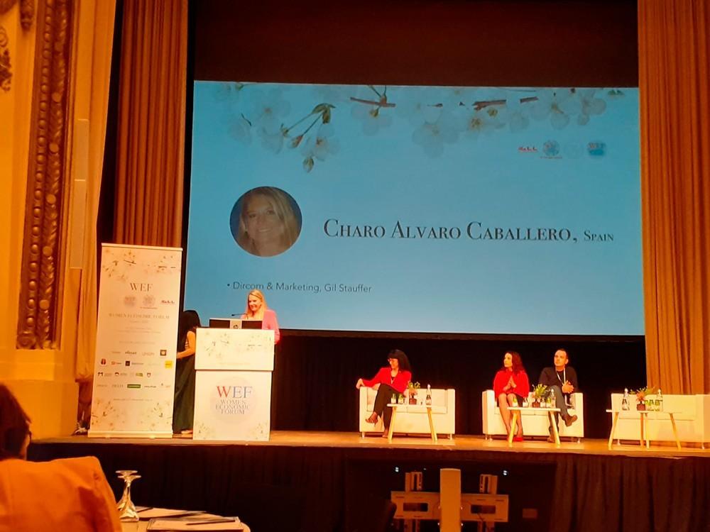 Charo Alvaro en WEF Eslovenia 2020