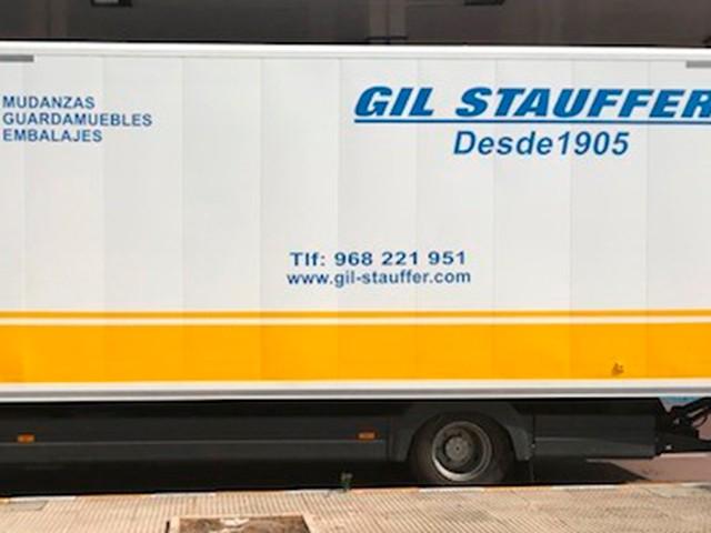 Mudanzas Murcia: Camión de Gil Stauffer Murcia