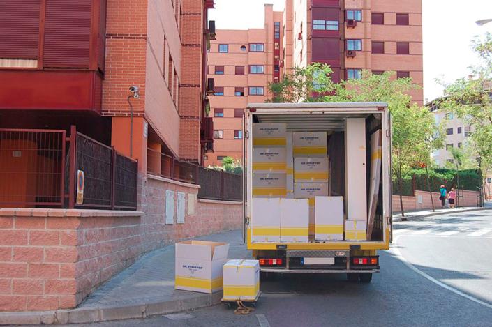 Mudanza Madrid Gil Stauffer Madrid - Camión de mudanzas
