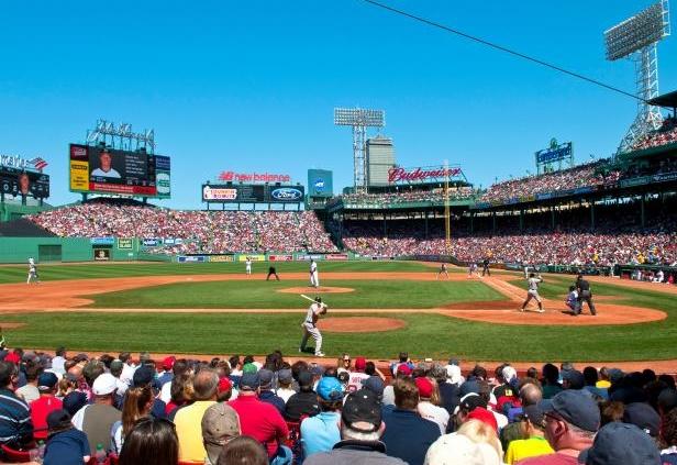 Mudarse a Boston - Partido de Beisbol