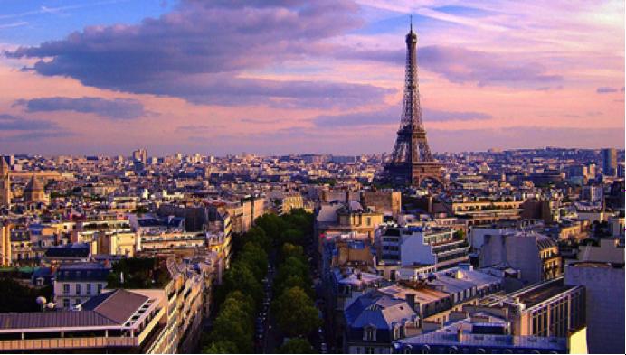 Mudarse a Francia - Vista de la ciudad de París