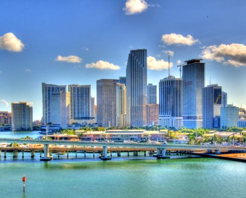 Mudarse a Miami - Panorámica de la ciudad