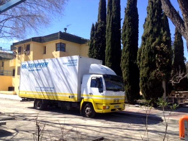 TRASLADO DE LA CIUDAD ESCUELA MUCHACHOS EN MADRID