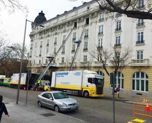 Mudanzas del hotel Ritz Madrid