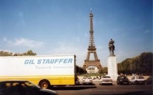 Precio mudanza internacional - Camión Gil Stauffer en ruta internacional